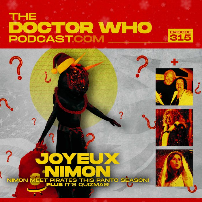 The Doctor Who Podcast Episode #315 – Panto time! The Horns of Nimon meets Doctor Who and The Pirates!